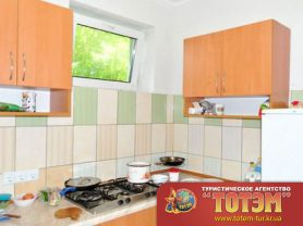 Кухня в санатории Мария ВМФ