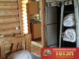 Вид на кухня из спальни в доме в SeaLine