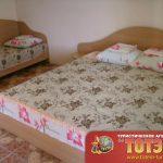 Комната с двумя кроватями в 2, 3-х местном номере в Аисте на крыше