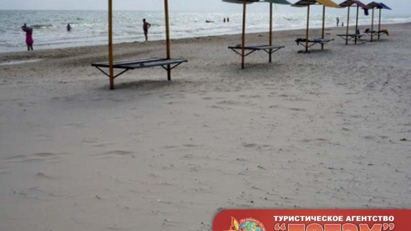 Пляж у Посейдон и Таврия